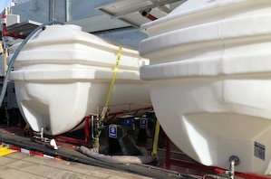 Take a gander: Verdechem Technologies Brand New Chemical Tank Trailer!